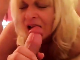 parceling out blonde wife with a friend