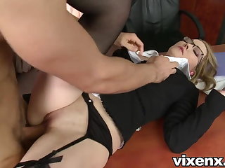 Bad Grub Streeter punished with spanking with an increment of anal sex