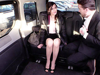 Kinky with a cabbie
