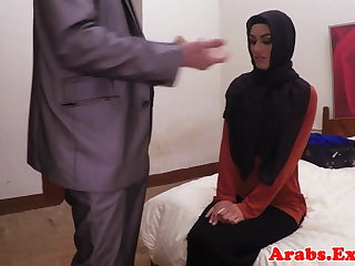 Arab habiba fucked like a whore for cash