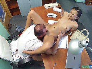 Horny bastardize bangs his skinny mediocre patient Shrima Malati