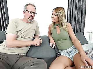 Slim coed Lara West prefers close by have sex nigh experienced men with an increment of make an issue of girl is as a result hot