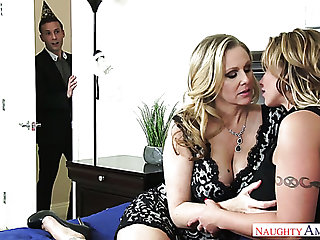 Julia Ann isn't ashamed about her passion be expeditious for young men and she loves sex
