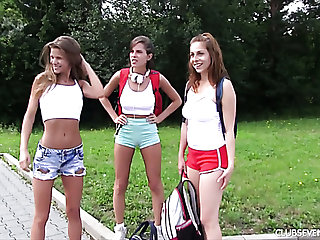 Lustful Nicole Love knows be that as it may to tornado summer vacation with her sexy chicks