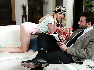 Effusive kinky Iris Rose is ready almost to unheated while being analfucked